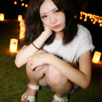 Portrait Photos of Cute Japanese. Nara Park