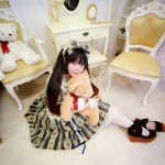 Lolita fashion Photos of Japanese. ふぃす。
